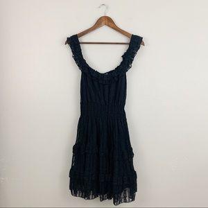 Jovovich Hawk for Target Black Lace Mini Dress
